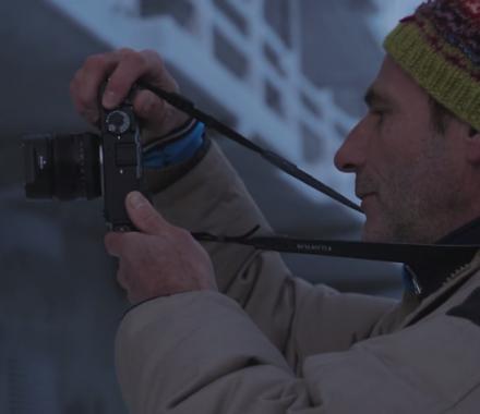 Éric Bouvet /// En Laponie avec le X-Pro2 Fujifilm